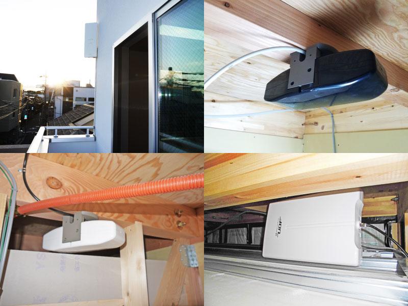 デザインアンテナ屋外・屋内設置価格