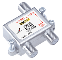 4K・8K対応BS・UHF混合器