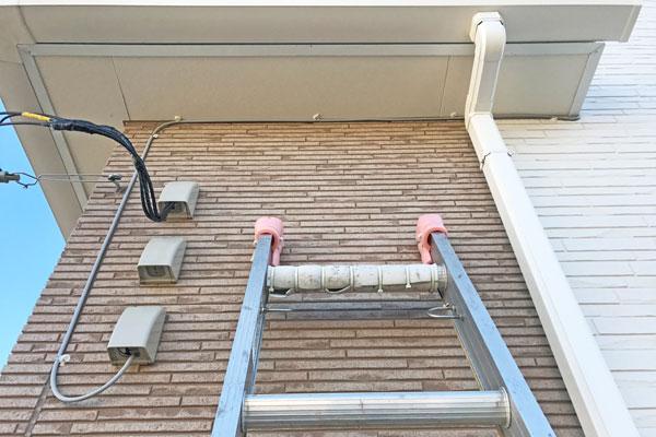 建物構造に合わせたアンテナ配線2