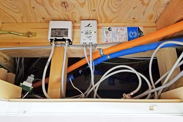 UHF・BSアンテナブースター